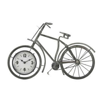 Ceas de birou în formă de bicicletă Mauro Ferretti Bike, 38,5 x 25 cm de la Mauro Ferretti