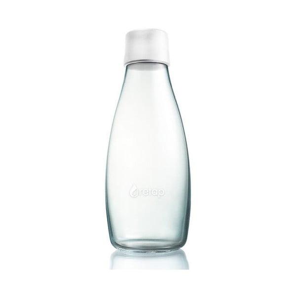 Mléčně bílá skleněná lahev ReTap s doživotní zárukou, 500ml