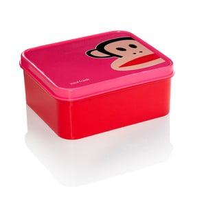 Růžový svačinový box Paul Frank