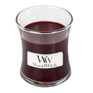 Lumânare parfumată WoodWick, aromă de iasomie și gardenie, 20 ore