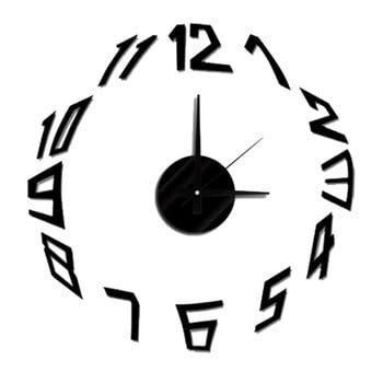 Ceas de perete autocolant Mauro Ferretti Basic ⌀ 50 cm