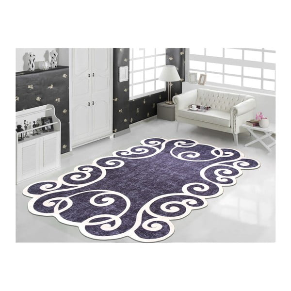 Gunna Siyah fekete-fehér szőnyeg, 60 x 100 cm - Vitaus