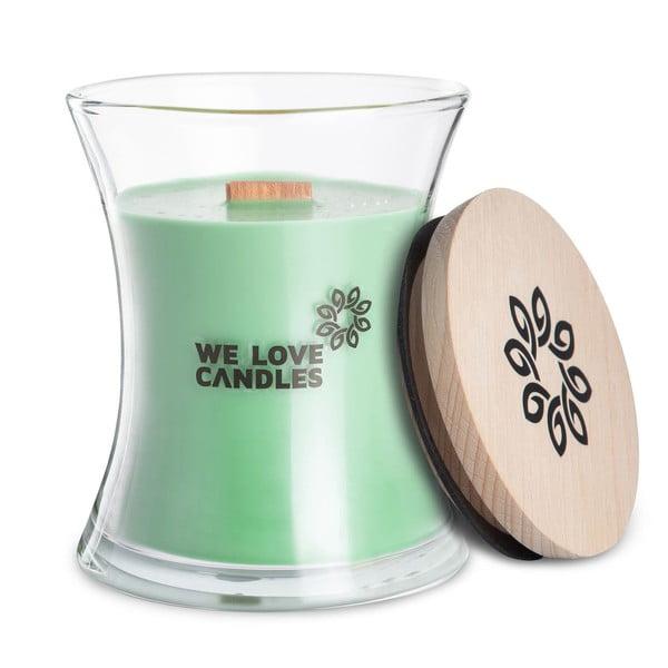 Svíčka ze sójového vosku We Love Candles Fresh Grass, doba hoření 64 hodin