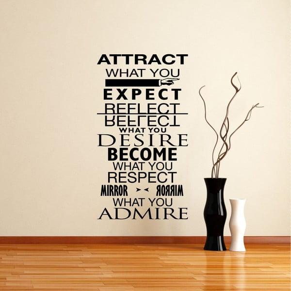 Samolepka Desire - Admire
