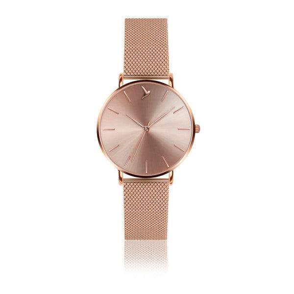 Dámske hodinky s remienkom z antikoro ocele v ružovozlatej farbe Emily Westwood Top