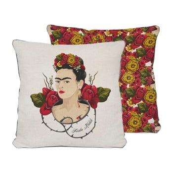 Față de pernă reversibilă Madre Selva Frida Roses, 45 x 45 cm imagine