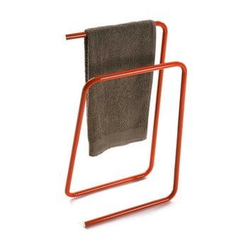 Suport metalic pentru prosoape Versa, portocaliu de la Versa