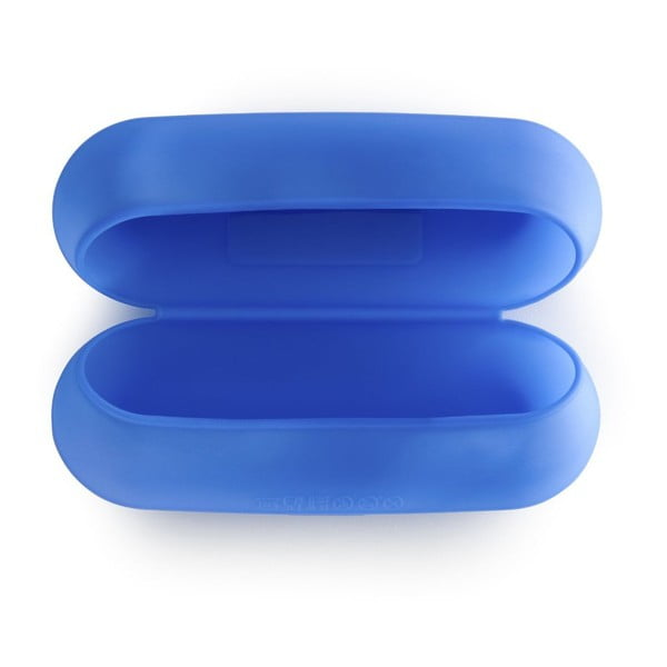 Silikonový obal na bagetu, modrý, 22 cm