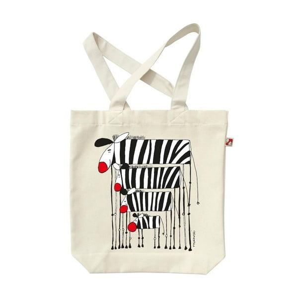 Plátěná taška Zebry