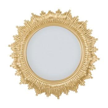 Oglindă de perete cu ramă din fier Mauro Ferretti Glam Star, ⌀ 45 cm de la Mauro Ferretti