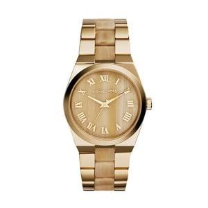 Dámské hodinky zlaté barvy s efektem dřeva Michael Kors 0533eed40e