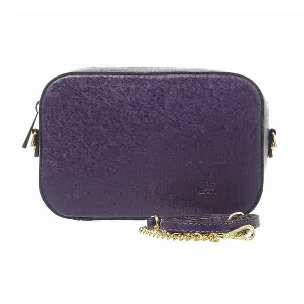 Kožené psaníčko Little High Purple