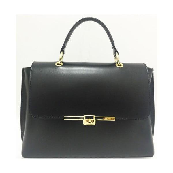 Kožená kabelka Lilu Black