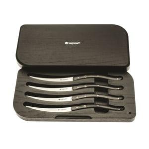 Sada 4 steakových nožů v dárkovém balení Ghemme, černé