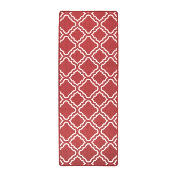 Červený kuchyňský běhoun Hanse Home Ornament, 67x180cm
