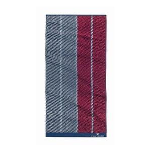 Ručník Tom Tailor Stripes Red, 50x100 cm