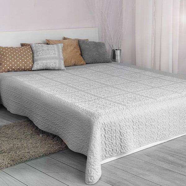 Přehoz přes postel Platinum Silver, 200x220 cm