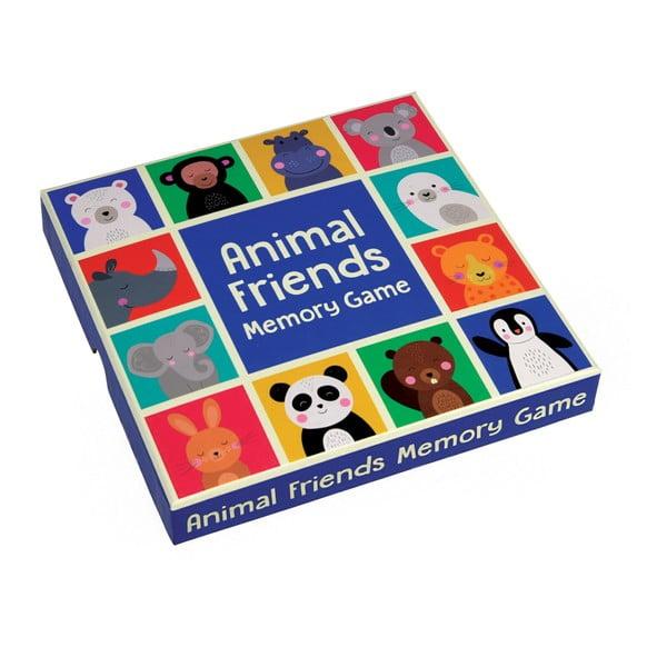Joc de memorie Rex London Animal Friends