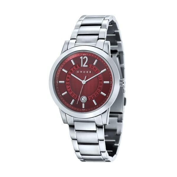 Pánské hodinky Cross Cambria Medium Red, 39 mm