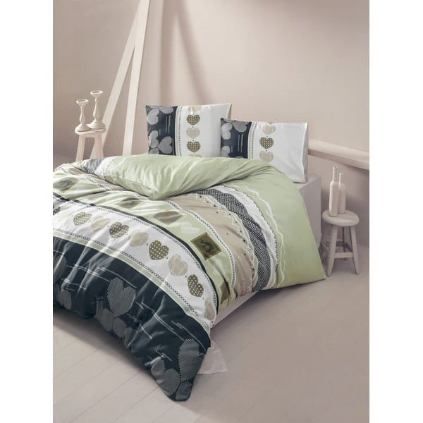 Lenjerie de pat cu cearșaf Century, 200 x 220 cm