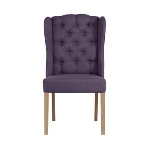 Fialová židle Jalouse Maison Hailey