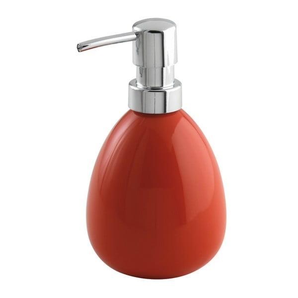 Červený dávkovač na mýdlo Wenko Polaris Red