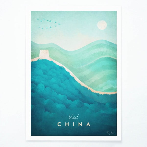 Plagát Travelposter China, A3