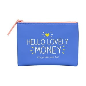 Modrá peněženka na drobné Happy Jackson Money