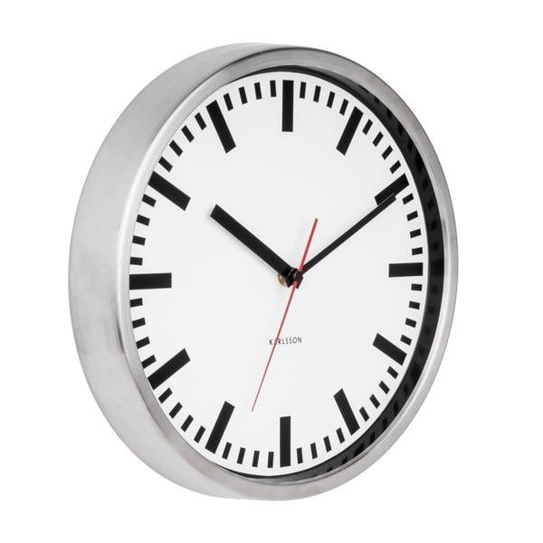 Nástěnné hodiny Karlsson Station, Ø 29 cm