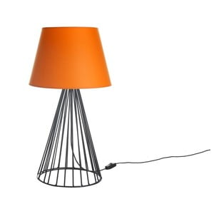 Stolní lampa Wiry Orange/Black