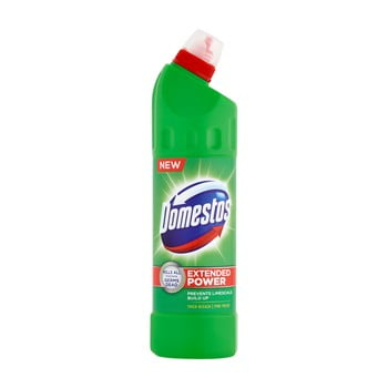 Set 2 sticle de detergent de curățare și dezinfectare toaletă Domestos Extra Pine, 2 x 750 ml  imagine