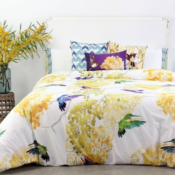 Povlak na peřinu z čisté bavlny Happy Friday Mimosa,200x200cm