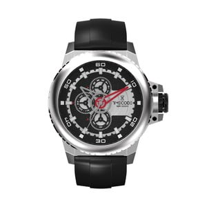 Pánské hodinky WWW 1991, Metallic/Black