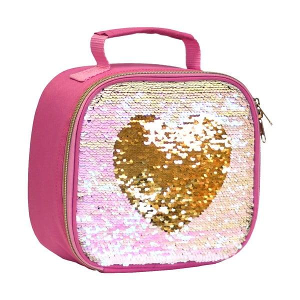 Heart flitteres ételhordó táska - Navigate