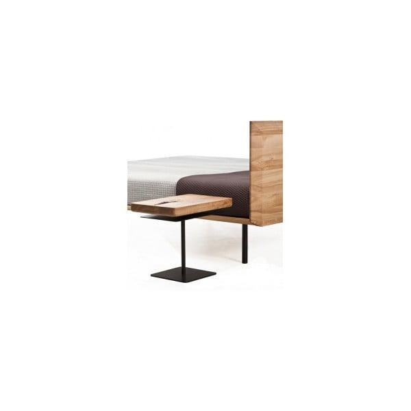 Noční stolek z olšového dřeva Mazzivo Moon