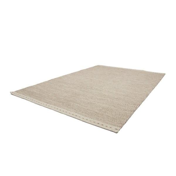 Vlněný koberec Mariposa 80x150 cm, béžový