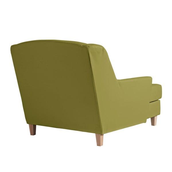 Zelená koženková lenoška Max Winzer Judith