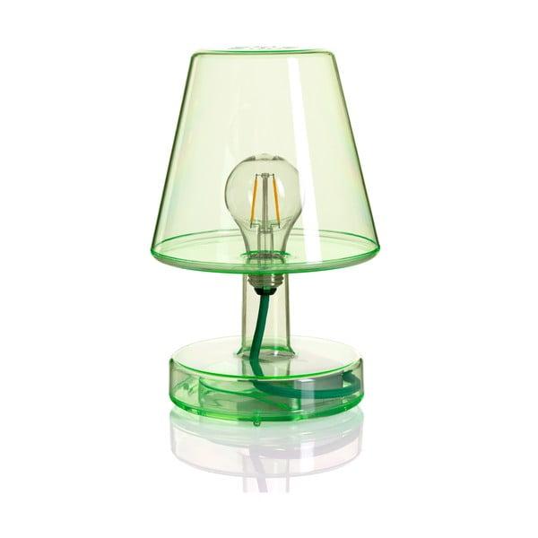 Zelená stolní lampa Fatboy Transloetje