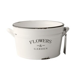 Keramický květináč Flowers, 22 cm