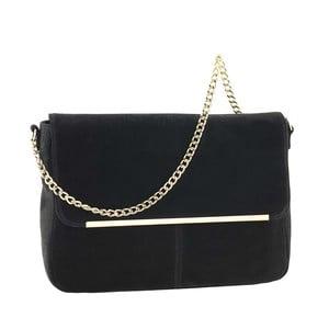 Kožená kabelka Mollie Black