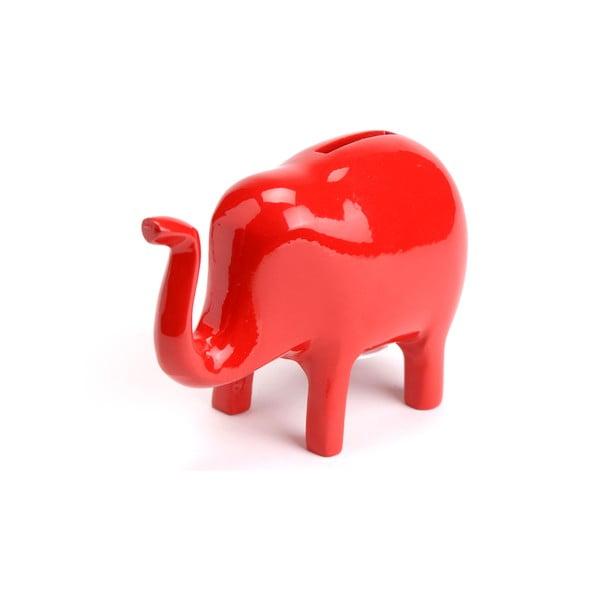 Kasička Červený slon
