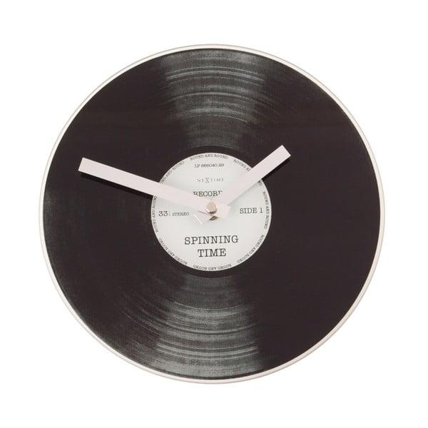 Hodiny Spinning Time, 20 cm