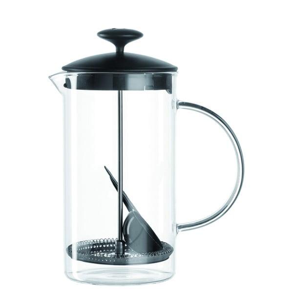 French Press na přípravu kávy LEONARDO Caffé, 1 l