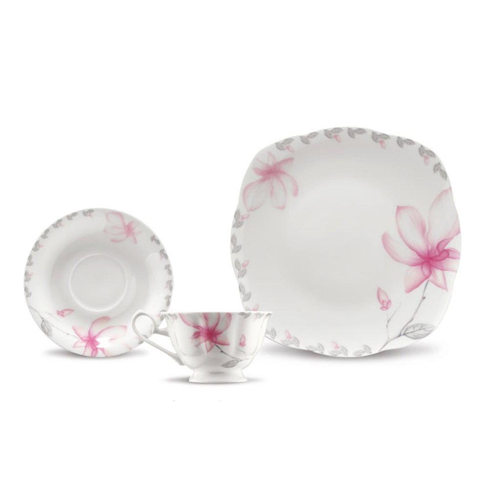 37dílná sada porcelánového nádobí Kutahya Spring