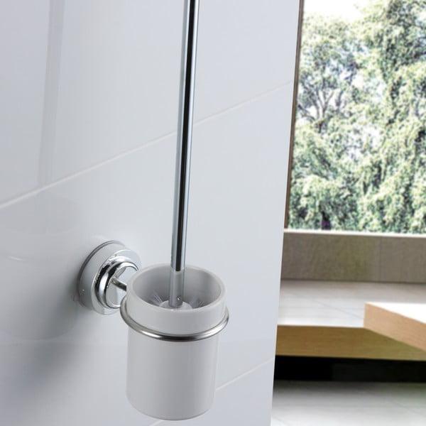 Perie WC cu montare pe perete fără găurire ZOSO Brush