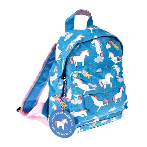 Rucsac cu model de unicorn Rex London Magical Unicorn, albastru