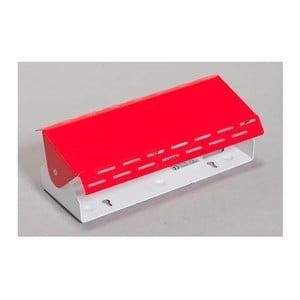 Červená stolní lampa ETH Lano