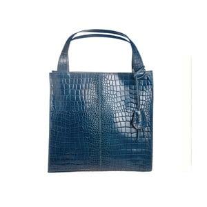 Modrá kožená kabelka Tina Panicucci Gera
