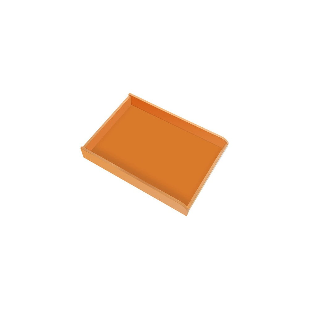 Oranžový přebalovací pult na komodu Vox Meee