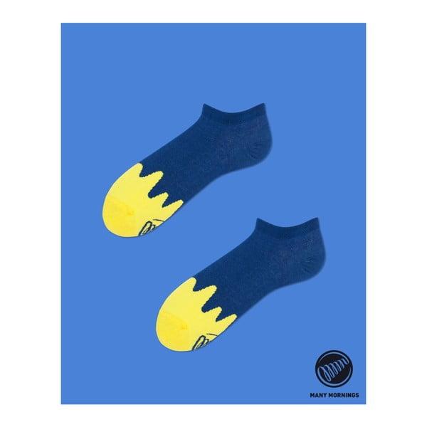 Ponožky Many Mornings Melted Navy Blue Low, vel. 43/46